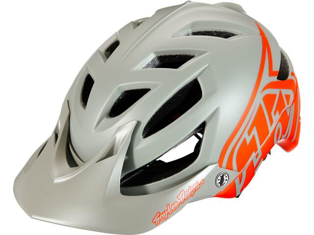 Troy Lee Designs A1 MIPS Classic Helm, orange/grey